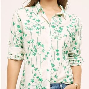 Anthropologie Wild Horses Embroidered Ivy Top - 4